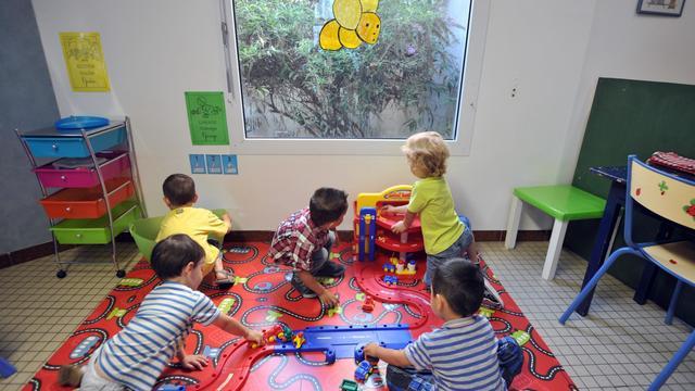 Des enfants dans une école maternelle le 27 août 2012 à Nantes [Frank Perry / AFP/Archives]