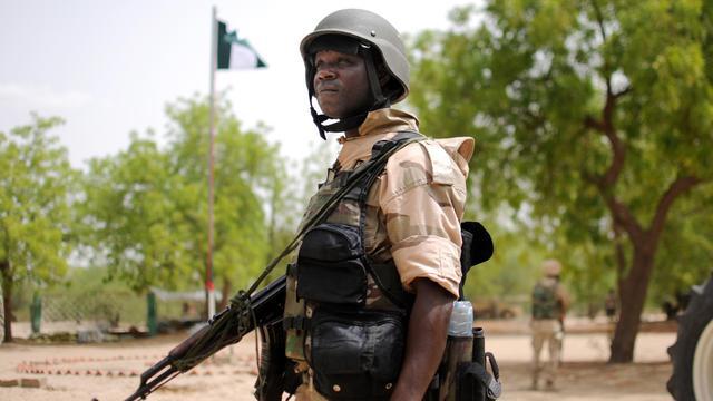 Un soldat nigerian [Quentin Leboucher / AFP/Archives]