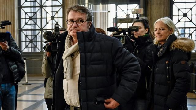 L'agriculteur Paul François arrive à la cour d'appel de Lyon pour son procès contre Monsanto, le 6 février 2019 [JEFF PACHOUD / AFP/Archives]