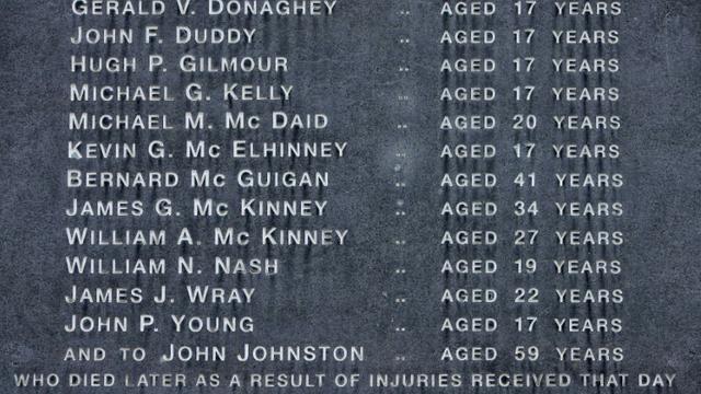 Un monument dédié aux victimes du Bloody Sunday à Londonderry, en Irlande du Nord le 15 juin 2010 [Peter Muhly / AFP/Archives]