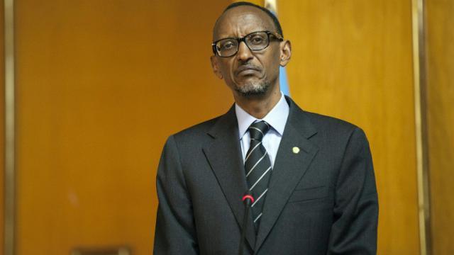 Le président du Rwanda Paul Kagame, à Addis Abeba, le 16 avril 2015 [ZACHARIAS ABUBEKER / AFP/Archives]