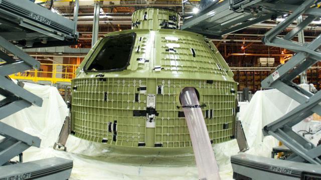 Le vaisseau Orion