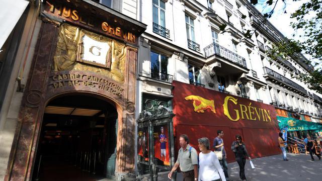 L'entrée du musée Grévin à Paris [Miguel Medina / AFP/Archives]