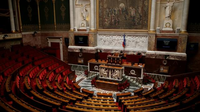 L'Assemblée Nationale vide, le 5 juillet 2016 [Thomas SAMSON / AFP/Archives]