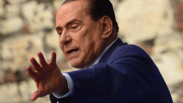 L'ex-Premier ministre Silvio Berlusconi, le 11 mai 2013 à Brescia en Italie [Olivier Morin / AFP/Archives]