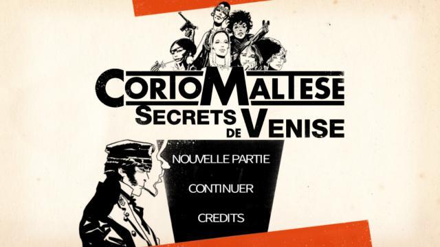 Corto Maltese : les Secrets de Venise.
