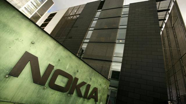 Nokia prévoit 597 suppressions d'emplois en France d'ici 2019 dans ses filiales Alcatel Lucent International et Nokia Solutions and Networks (NSN) [ANTTI AIMO-KOIVISTO / LEHTIKUVA/AFP/Archives]
