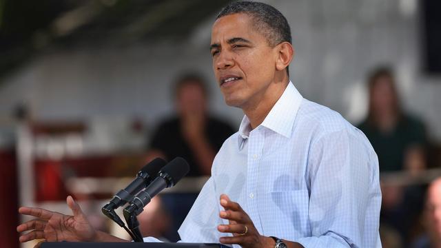 Barack Obama et Mitt Romney se sont affrontés à distance mardi sur les questions d'énergie alors que les deux candidats à la présidentielle américaine effectuent chacun un périple en bus dans des Etats clés en vue du scrutin du 6 novembre.[GETTY IMAGES NORTH AMERICA]