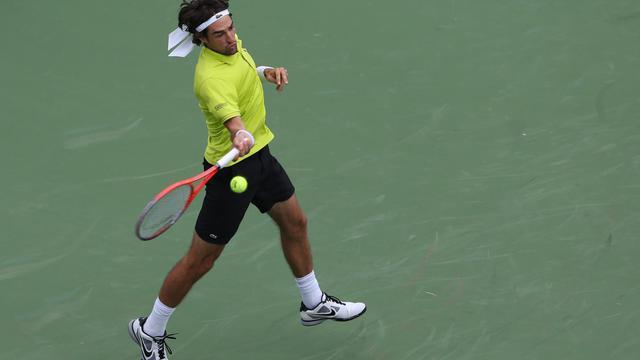 Jérémy Chardy s'est qualifié avec brio mardi pour le deuxième tour du tournoi ATP Masters 1000 de Cincinnati en battant l'Américain Andy Roddick, tandis que Paul-Henri Mathieu a été sorti par le Suisse Stanislas Wawrinka.[GETTY IMAGES NORTH AMERICA]