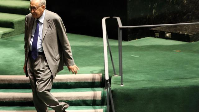 L'émissaire international pour la Syrie Lakhdar Brahimi aborde sa mission avec peu d'espoir de trouver une solution pacifique à un conflit de plus en plus meurtrier, face à l'absence de consensus international, estiment des analystes. [GETTY IMAGES NORTH AMERICA]