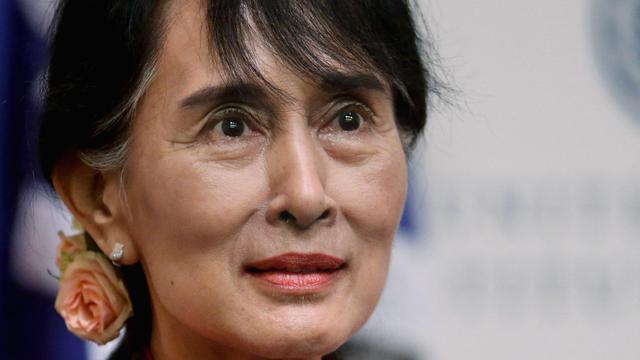 Aung San Suu Kyi, le 18 septembre 2012 à Washington [Chip Somodevilla / Getty Images/AFP/Archives]