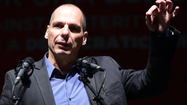 L'ancien ministre des Finances d'Alexis Tsipras, le grec Yanis Varoufakis, est candidat aux élections européennes le 20 février 2016 [JAVIER SORIANO / AFP/Archives]