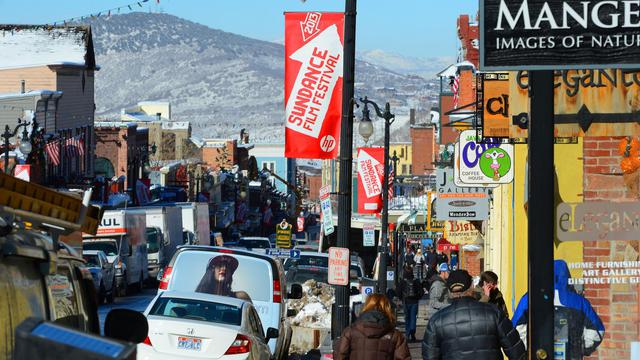 Park City s'apprête le 16 janvier 2013 à accueillir le festival du film de Sundance [Mark Davis / AFP/Getty Images]