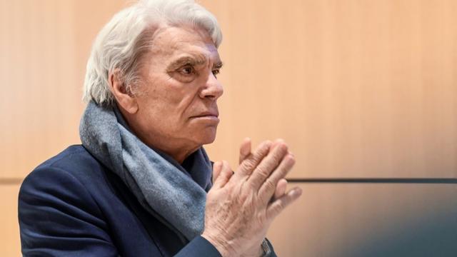 Bernard Tapie, au tribunal, à Paris, le 4 avril 2019 [Bertrand GUAY / AFP/Archives]