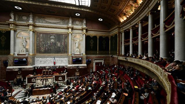 Les députés à l'Assemblée nationale, le 19 décembre 2018. [Philippe LOPEZ / AFP]