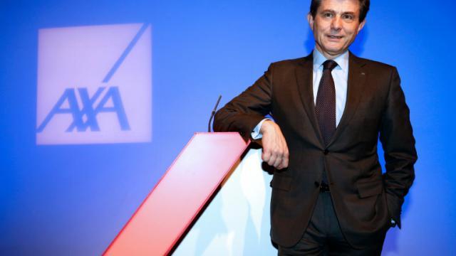 Le PDG d'Axa, Henri de Castries, le 25 février 2016 à Paris [FRANCOIS GUILLOT / AFP/Archives]