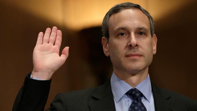L'ancien chef de l'administration fiscale, Douglas Shulman, lors d'une audition au Sénat, le 21 mai 2013 à Washington [Win Mcnamee / Getty Images/AFP/Archives]