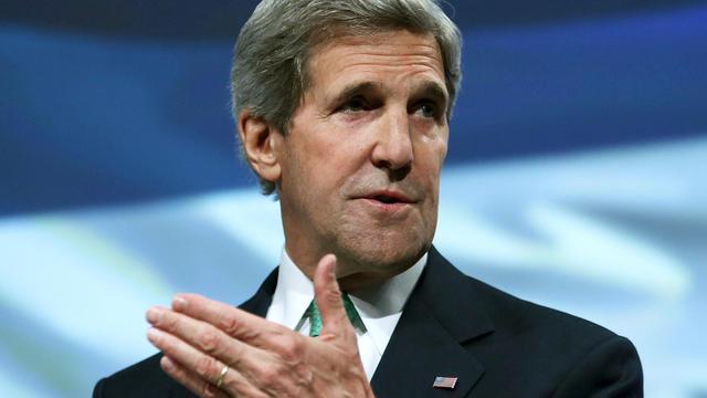 Le secrétaire d'Etat américain John Kerry, le 3 juin 2013 à Washington [Mark Wilson / Getty Images/AFP]