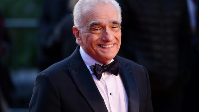 """Martin Scorsese lors de la première du film """"The Irishman"""" pendant le gala de clôture du festival de film BFI à Londres, le 13 octobre 2019 [DANIEL LEAL-OLIVAS / AFP]"""