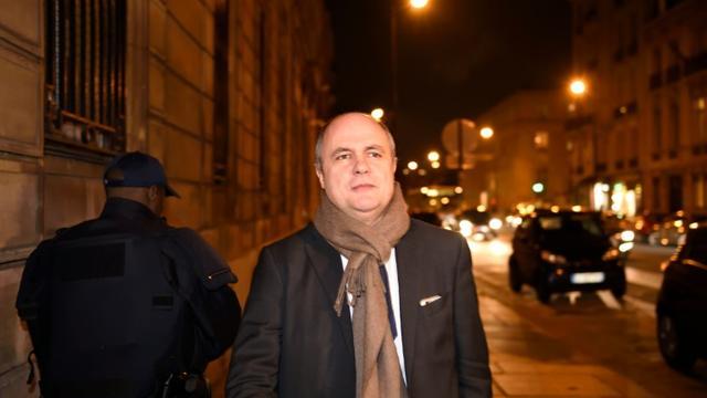 Bruno Le Roux, président du groupe socialiste à l'Assemblée nationale, le 14 décembre 2015 à Paris [ERIC FEFERBERG / AFP/Archives]