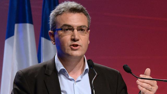L'eurodéputé du Front National Aymeric Chauprade à Paris, le 18 mai 2014 [Pierre Andrieu / AFP/Archives]