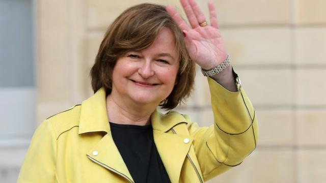 Nathalie Loiseau à la sortie de l'Elysée, le 27 mars 2019 à Paris [ludovic MARIN / AFP/Archives]