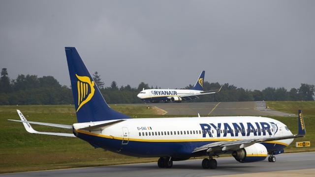 Ryanair est en phase d'expansion en Allemagne, où la compagnie opère depuis plusieurs aéroports dont celui de Francfort-Hahn (photo DPA) [Thomas Frey / dpa/AFP]