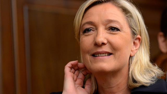 Marine Le Pen, le 19 juin à Moscou  [Kirill Kudryavtsev / AFP]