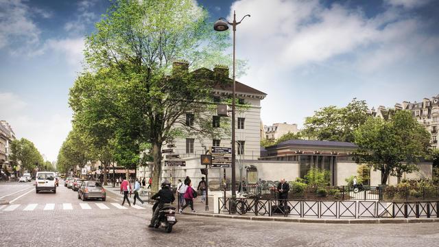 Place Denfert-Rochereau, le musée de la Libération de Paris - musée du général Leclerc - musée Jean Moulin
