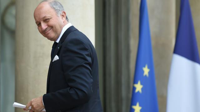 Le ministre français des Affaires étrangères Laurent Fabius le 10 novembre 2015 à l'Elysée à Paris [STEPHANE DE SAKUTIN / AFP]