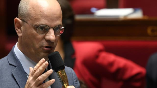 Le ministre de l'Education Jean-Michel Blanquer le 17 octobre 2018 à l'Assemblée nationale à Paris [Eric FEFERBERG / AFP/Archives]