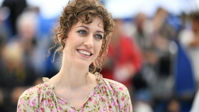 La réalisatrice américaine Annie Silverstein, le 16 mai 2019 à Cannes [LOIC VENANCE / AFP/Archives]