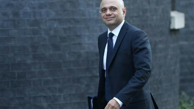 Le ministre de l'Intérieur britannique Sajid Javid, ici à Londres le 26 février 2010, a déchu de sa nationalité britannique Shamima Begum, qui avait rejoint l'EI en Syrie en 2015 [Daniel LEAL-OLIVAS / AFP/Archives]