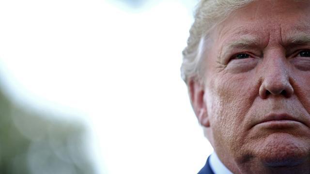 Le président américain Donald Trump le 2 août à Washington [Brendan Smialowski / AFP]