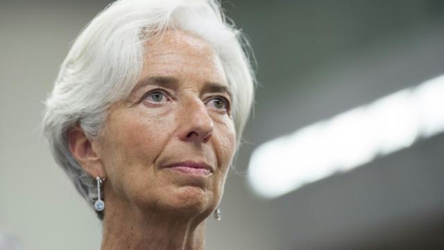 La directrice générale du FMI Christine Lagarde, le 3 novembre 2016 à Washington [SAUL LOEB / AFP/Archives]