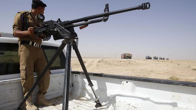 Un soldat irakien, en juin 2014 [Mohammed Sawaf / AFP/Archives]
