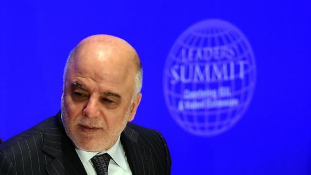 Le Premier ministre irakien Haider al-Abadi, le 29 septembre 2015 à New York [JEWEL SAMAD / AFP/Archives]