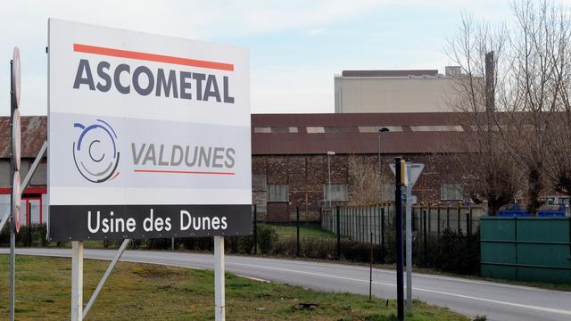 Entrée du site Ascométal à Leffrinckoucke, dans le nord de la France, le 7 mars 2014  [Philippe Huguen / AFP/Archives]