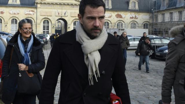 Jérôme Kerviel à la sortie du palais de justice le 20 janvier 2016 à Versailles [DOMINIQUE FAGET / AFP/Archives]