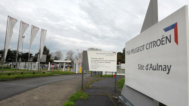 Le site d'Aulnay-sous-Bois du groupe automobile PSA Peugeot Citroën, le 25 octobre 2013 [ERIC PIERMONT / AFP/Archives]
