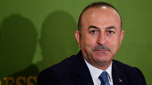 Le ministre des affaires étrangères turc Mevlut Cavusoglu à Tokyo, le 6 novembre 2018 [Martin BUREAU / AFP/Archives]