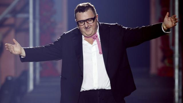 Alber Elbaz, le 27 septembre 2012, à Paris   [Francois Guillot / AFP/Archives]