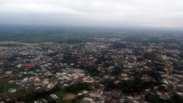 Vue aérienne de  Libreville en date du 13 janvier 2017 [Justin TALLIS / AFP/Archives]