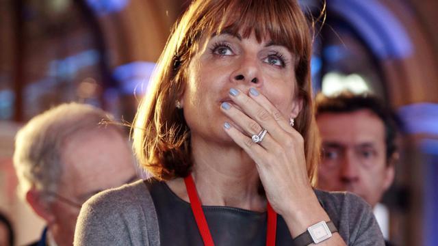 L'ancienne patronne d'Areva Anne Lauvergeon participe à une conférence, le 11 avril 2013 à Paris [Jacques Demarthon / AFP/Archives]