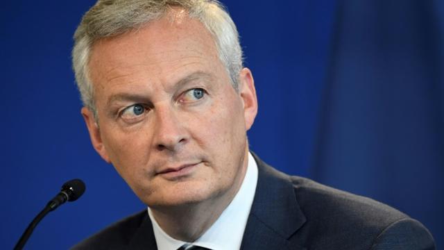Le ministre de l'Economie et des Finances Bruno Le Maire le 26 septembre 2019 [Bertrand GUAY / AFP/Archives]