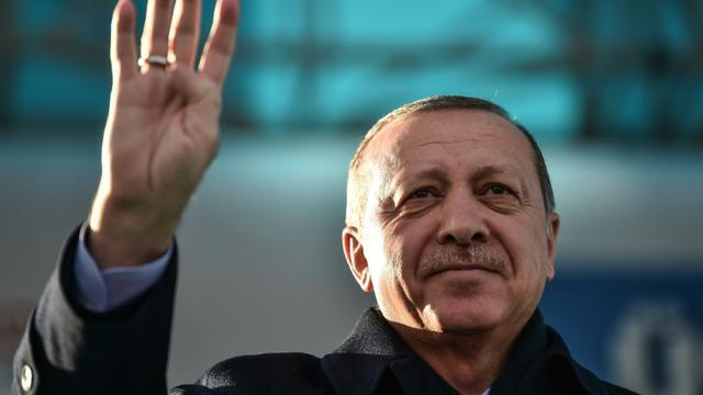 Le président turc Recep Tayyip Erdogan, le 15 décembre 2017 Istanbul [OZAN KOSE / AFP]