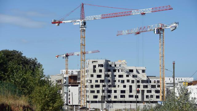 Un chantier de construction à Montpellier le 17 août 2015 [PASCAL GUYOT / AFP/Archives]
