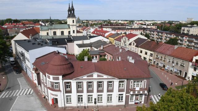Vue générale de la ville de Weilun en Pologne, le 20 août 2019 [Janek SKARZYNSKI / AFP/Archives]