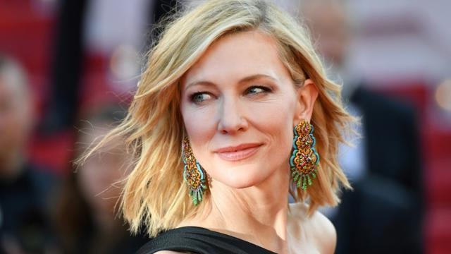 Cate Blanchett à Cannes le 12 mai 2018 [Alberto PIZZOLI / AFP/Archives]