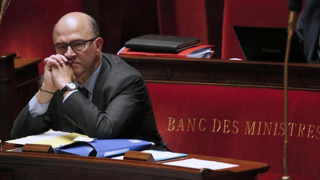 Pierre Moscovici, le 22 octobre 2013 à l'Assemblée nationale [Patrick Kovarik / AFP/Archives]